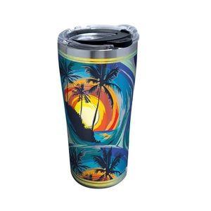 Tervis 1298266 Tropical Beach Travel Tumbler 30oz